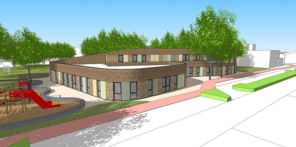 School, Kindpark, Onderwijs, Duurzaam, bouw, Van der Heijden bouwbedrijf