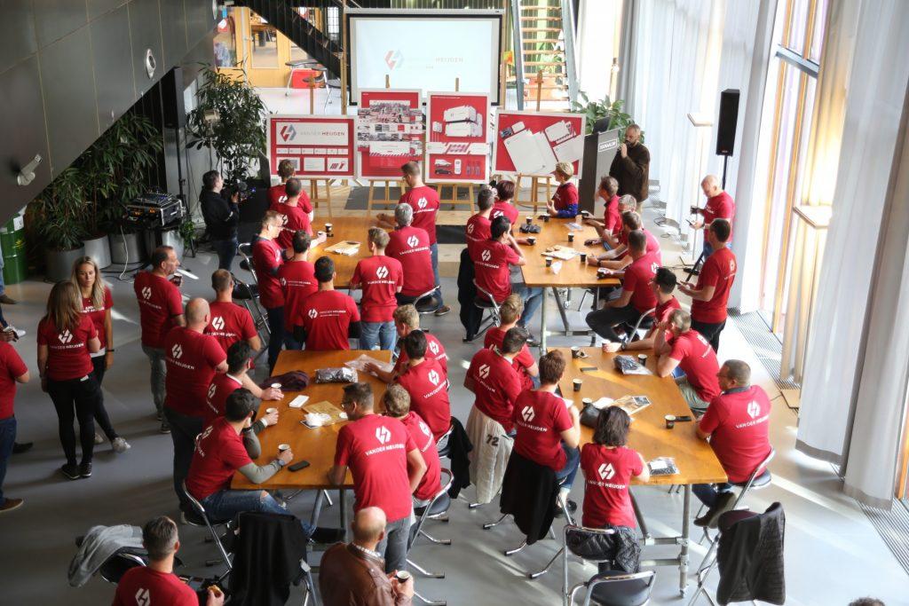 Interne lancering Van der Heijden bouw en ontwikkeling - operationele zelfsturing