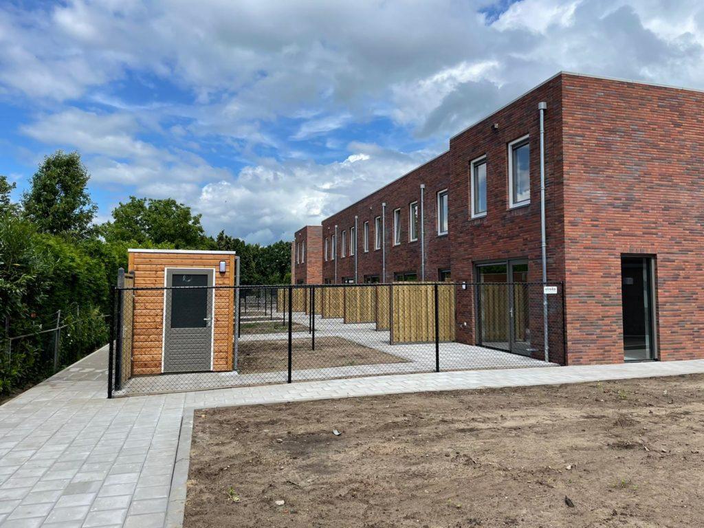 Woningen achter LTS Veghel