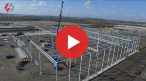 Dronevideo staalconstructie vidaXL